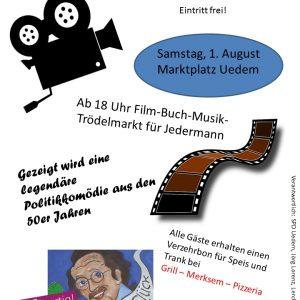 Das Plakat zum Filmabend
