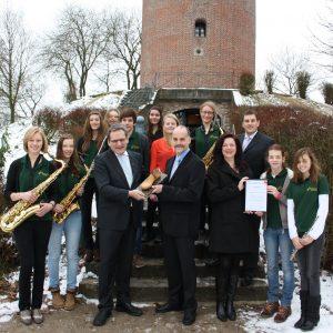 Jugendorchester Uedem erhält Uedemer Leisten 2013