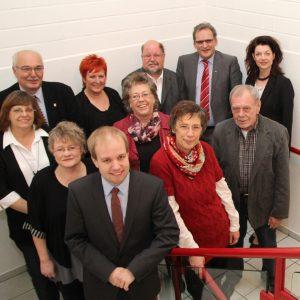 12 der 16 SPD Kandidaten für den Gemeinderat 2014