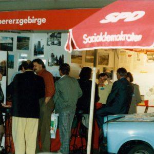 Schon 1991 gemeinsam beim SPD-Parteitag in Bremen
