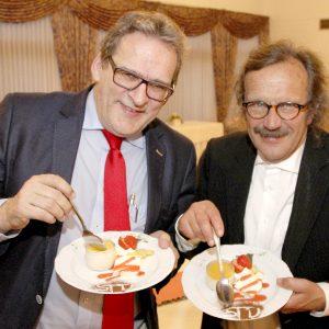 Freuen sich auf die Wahl im September: Heinz Bömler und Uedems SPD-Fraktionschef Jörg Lorenz