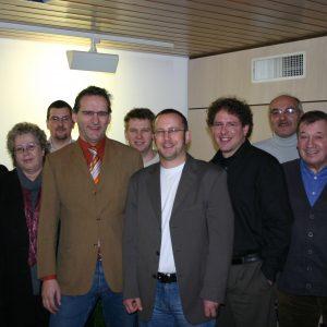 Die Mitglieder der SPD Fraktion Uedem im Januar 2007