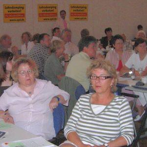 Mitglieder der Kreis Klever SPD beim Programmkovent im Bürgerhaus Uedem