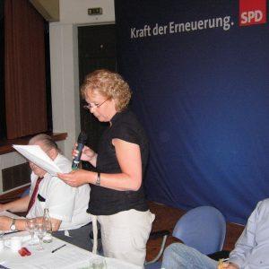 Uedemer Sozialdemokraten beim Parteitag: Anne Landwehr und Carsten Otto