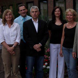 SPD Uedem mit Experten nach dem Gespräch über Betreutes Wohnen in Uedem