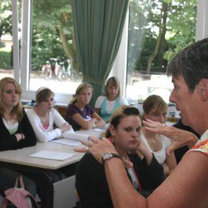 Barbara Hendricks in der Hanns Dieter Hüsch Schule