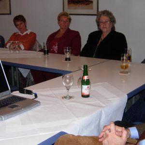Norbert Killewald bei MV mit Mitgliedern OV Uedem