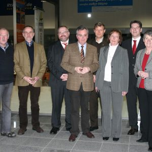 Der Vorstand der Arbeitsgemeinschaft der Selbstständigen in der SPD Kreis Kleve