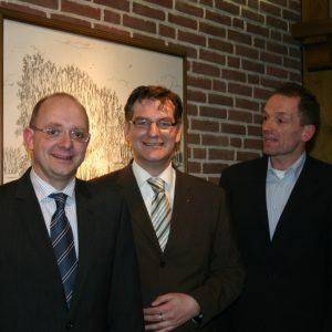 André Stinka MdL, Bodo Wißen MdL, Dr. Christoph Epping