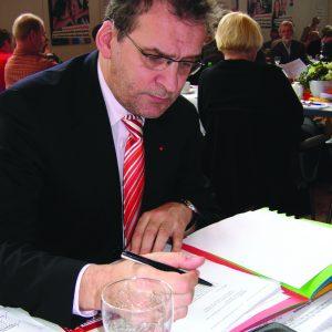 Jörg Lorenz auf dem Parteitag