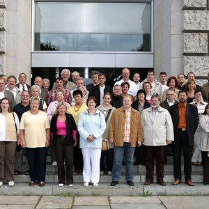 Aktive Sozialdemokraten aus dem Kreis Kleve bei Barbara Hendricks in Berlin