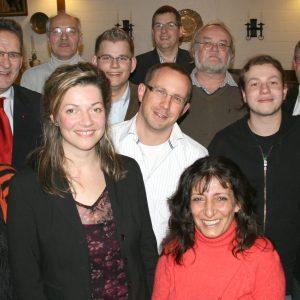 Die Kandidaten der SPD für die Kommunalwahl 2009.