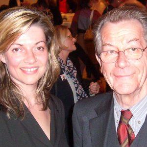 Bürgermeisterkandidatin Kathrin Plotke und Franz Müntefering.