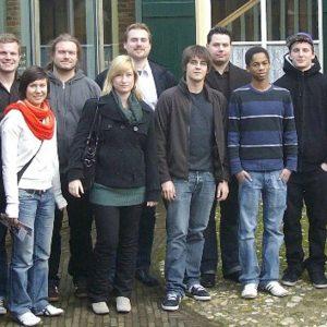 Steffi Horn und Carsten Otto waren für die Uedemer Jusos in Münster.