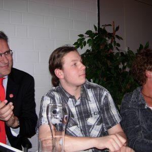 Starke Truppe: Die Uedemer Genossen auf dem SPD-Kreisparteitag in Uedem.