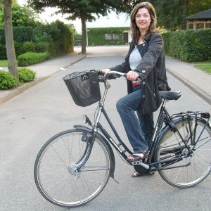 Kathrin Plotke fährt gerne Fahrrad.