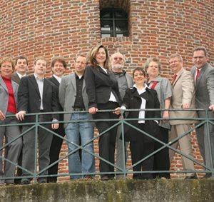 Eine starke Truppe: die Kandidaten der SPD für die Kommunalwahl 2009.