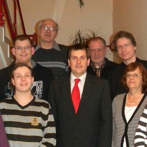 Der Vorstand der SPD Uedem, gewählt am 16.3.2010