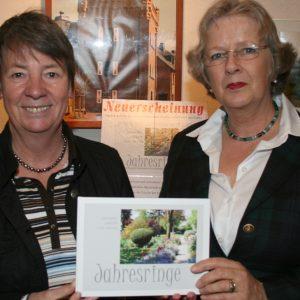 Annabel de Beauregard und Barbara Hendricks (SPD)