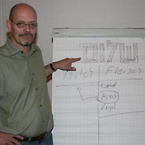Bernd Kruse erklärt jüdische Speiseregeln.
