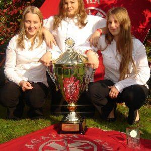 Die Bundessiegerinnen aus Uedem